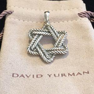 David Yurman SS Star of David Pendant/Enhancer